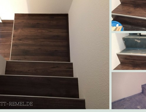 Treppenübergang renoviert
