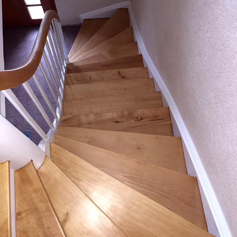 Nach der Treppenrenovierung