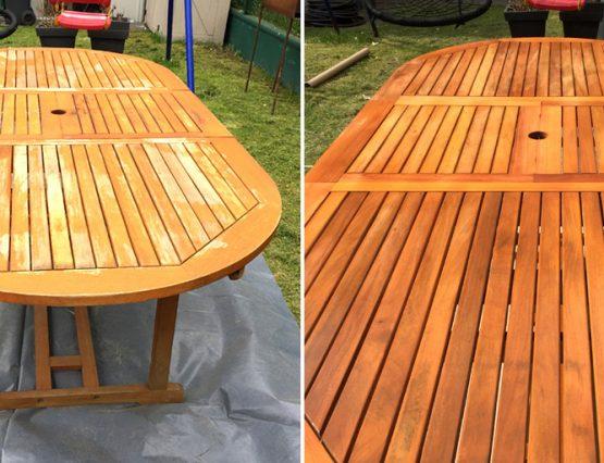 Wir machen Gartenmöbel fit für die Saison: Renovierung mit Sandtstrahlen