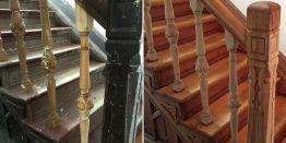 Sanierung einer denkmalgeschützten Treppe
