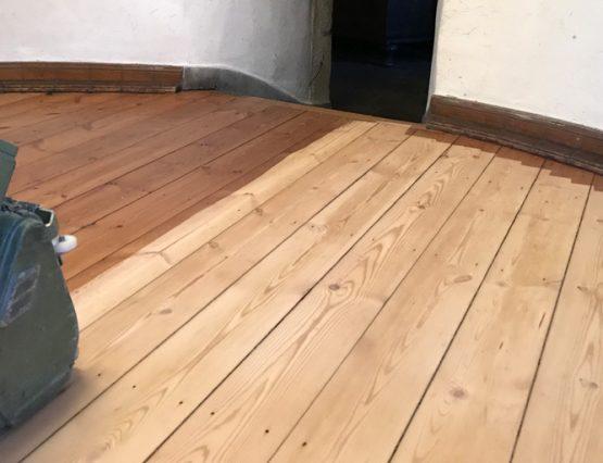 Denkmalgeschützte Böden im Haus Kemnade renovieren