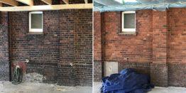Mauerwerk sandstrahlen: Parkett Remel reinigt Ziegelsteine in Herten