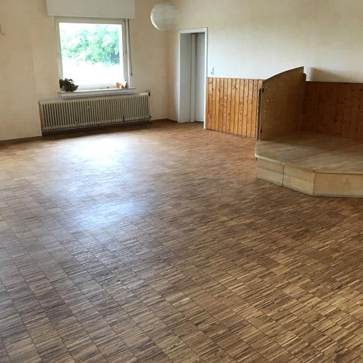 Bodenrenovierung in Datteln: Wir haben Industrieparkett in Datteln renoviert.
