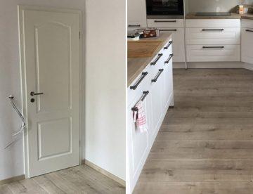Türen und Laminat für ein Einfamilienhaus in Recklinghausen von Parkett Remel