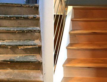 Treppe mit Parkett renovieren in Datteln