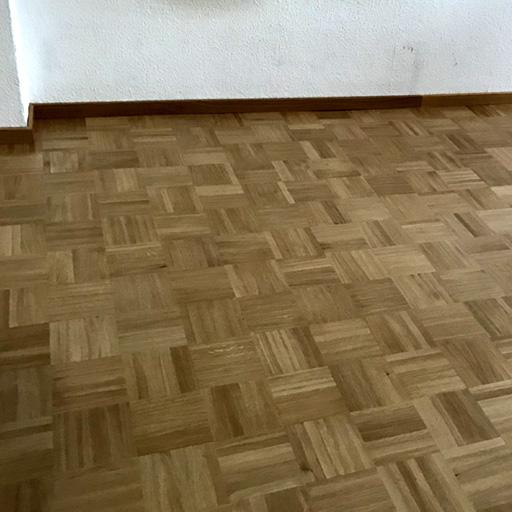 neues Mosaikparkett in Würfelmuster in Recklinghausen verlegt