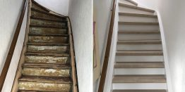 Trenovo in Bochum: Treppe mit Laminat renovieren