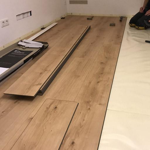 Designboden im Dielenformat für den Keller in Lüdinghausen