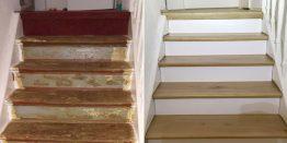 Treppe sanieren und Dielen verlegen in Recklinghausen