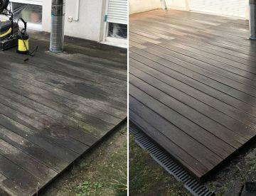 So geht's richtig: Holzterrasse reinigen ohne Hochdruckreiniger