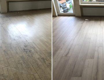 Parkett und Laminat auf Teppich verlegen, schadet dem Holzboden